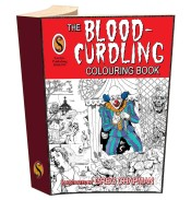 Blood Curdling Colouring Book